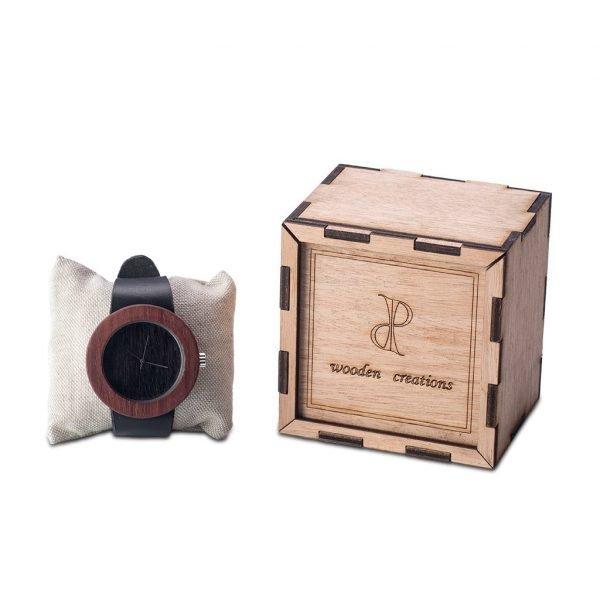 Ξύλινο Ρολόι WnL