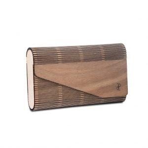 Χειροποίητη ξύλινη τσάντα φάκελος