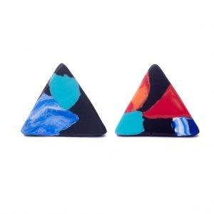 Fiona Τριγωνικά Σκουλαρίκια