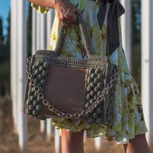 """Ophelia"" τσάντα tote"