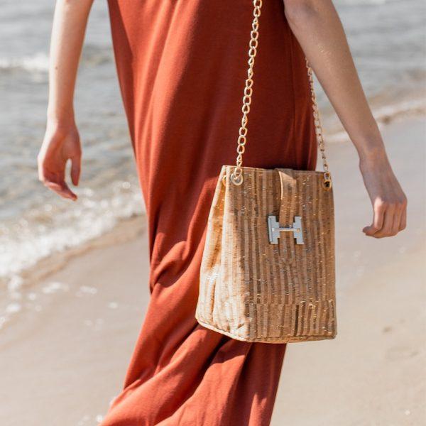 Τσάντα πλάτης φελλού