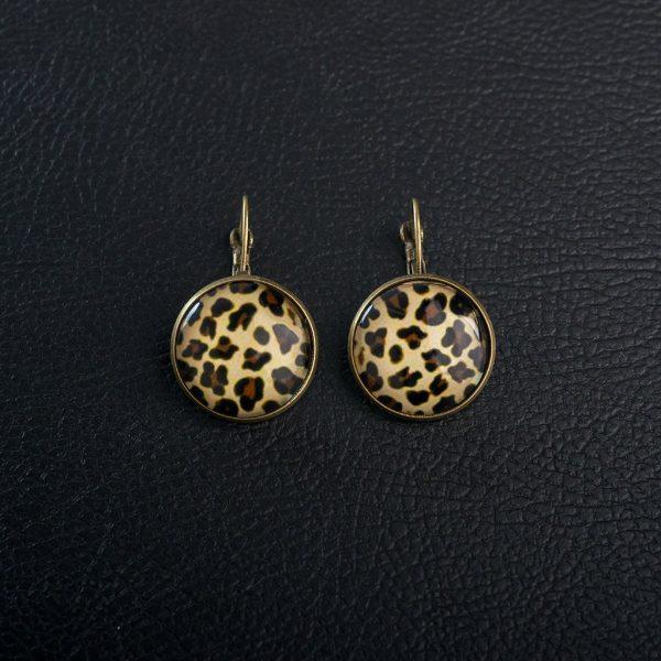 Animal Print σκουλαρίκια
