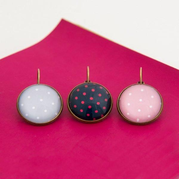 Κρεμαστά σκουλαρίκια Polka Dot