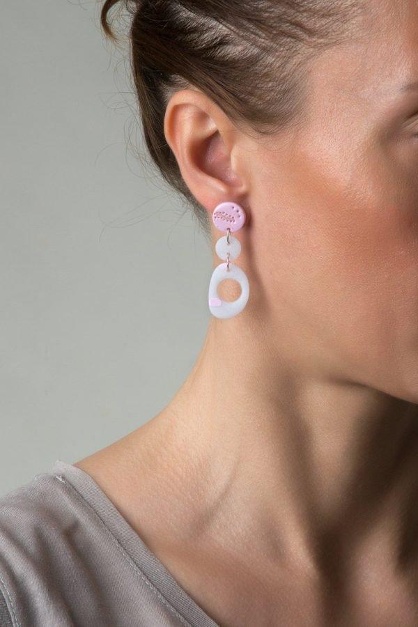 Eva κρεμαστό σκουλαρίκι