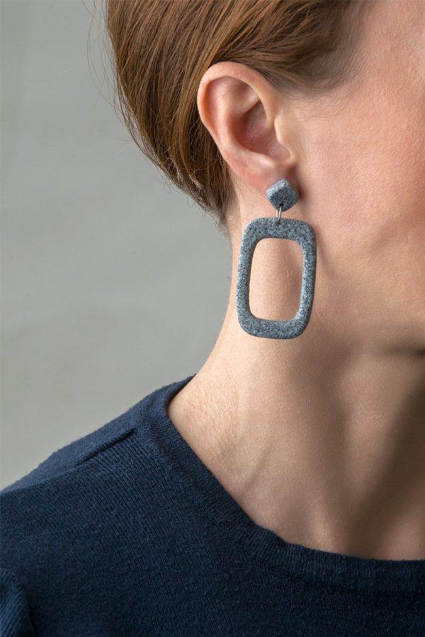 Hera γεωμετρικά σκουλαρίκια 1 AboutMade