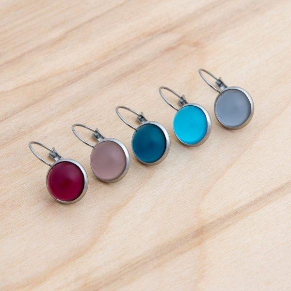 Ατσάλινα σκουλαρίκια Colors