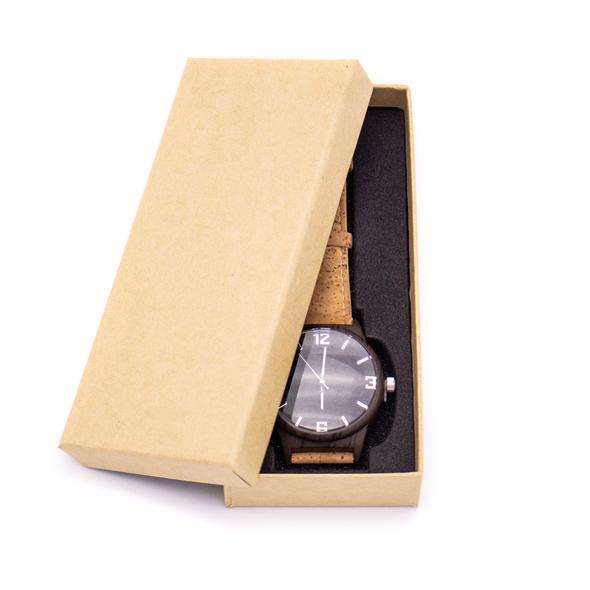 Ρολόι unisex καφέ φυσικός φελλός