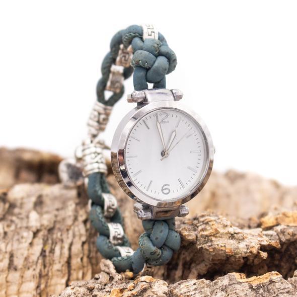 Ρολόι βραχιόλι φυσικός φελλός Pretty knots