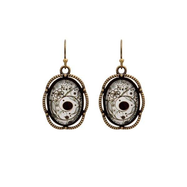 Dangle Earrings BnW2