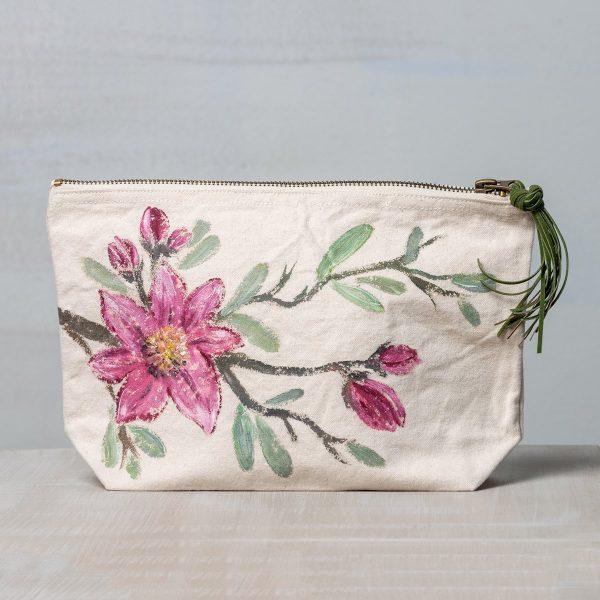Υφασμάτινη ζωγραφιστή τσάντα Ανθισμένο Κλαδί