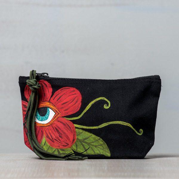 Ζωγραφιστή τσάντα Eye Flower