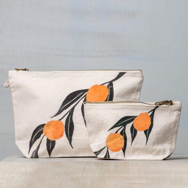 Υφασμάτινη τσάντα ζωγραφιστή (Oranges)